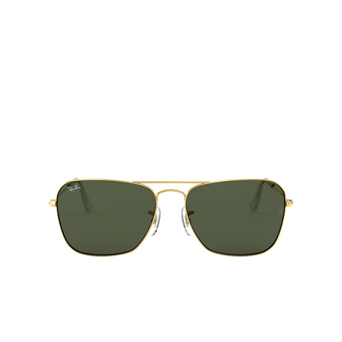 Ray-Ban® Square Sunglasses: Caravan RB3136 color Arista 001 - 1/3.