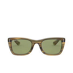 Ray-Ban® Sunglasses: Caribbean RB2248 color Striped Yellow 13134E.