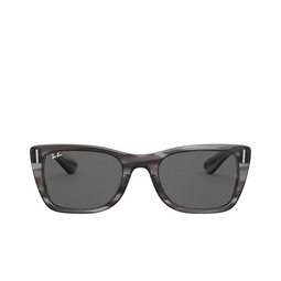 Ray-Ban® Sunglasses: Caribbean RB2248 color Striped Grey 1314B1.