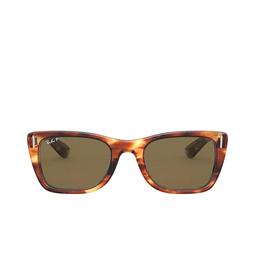 Ray-Ban® Sunglasses: Caribbean RB2248 color Striped Havana 954/57.