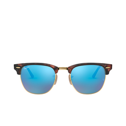 Ray-Ban® Square Sunglasses: Clubmaster RB3016 color Sand Havana On Arista 114517.