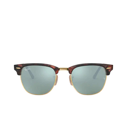 Ray-Ban® Square Sunglasses: Clubmaster RB3016 color Sand Havana On Arista 114530.