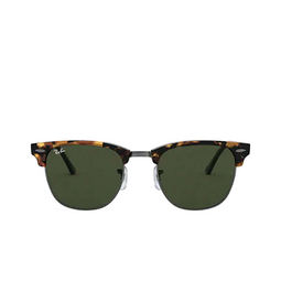 Ray-Ban® Square Sunglasses: Clubmaster RB3016 color Spotted Black Havana 1157.