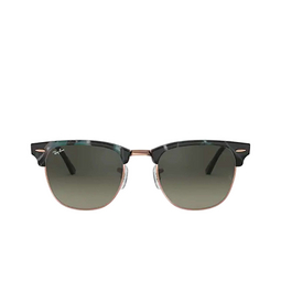 Ray-Ban® Square Sunglasses: Clubmaster RB3016 color Spotted Grey / Green 125571.