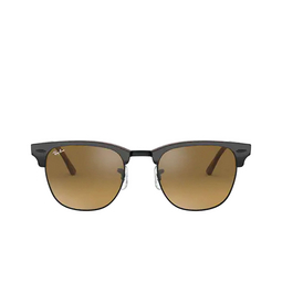 Ray-Ban® Square Sunglasses: Clubmaster RB3016 color Top Grey On Havana 12773K.
