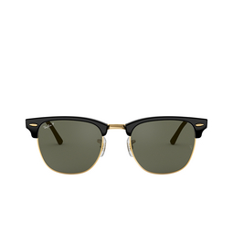 Ray-Ban® Square Sunglasses: Clubmaster RB3016 color Black 901/58.