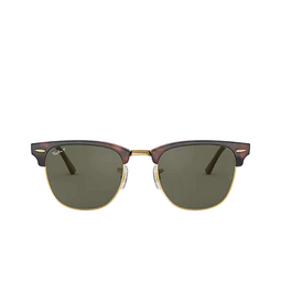 Ray-Ban® Square Sunglasses: Clubmaster RB3016 color Red Havana 990/58.