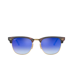 Ray-Ban® Square Sunglasses: Clubmaster RB3016 color Red Havana 990/7Q.