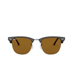Ray-Ban® Square Sunglasses: Clubmaster RB3016 color Black W3387.
