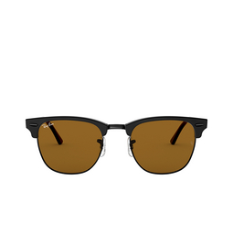Ray-Ban® Square Sunglasses: Clubmaster RB3016 color Matte Black W3389.