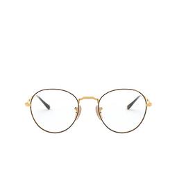 Ray-Ban® Eyeglasses: David RX3582V color Havana On Arista 2945.