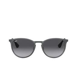 Ray-Ban® Sunglasses: Erika Metal RB3539 color Metallic Grey 192/8G.