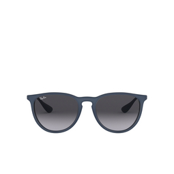Ray-Ban® Sunglasses: Erika RB4171 color Rubber Blue 60028G.