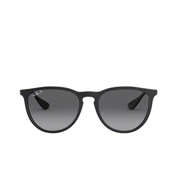 Ray-Ban® Sunglasses: Erika RB4171 color Black Rubber 622/T3.