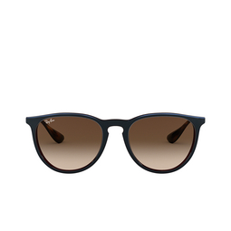 Ray-Ban® Sunglasses: Erika RB4171 color Mirror Blue On Light Brown 631513.