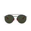 Ray-Ban® Round Sunglasses: Ferrari RB3647M color Black F02831 - product thumbnail 1/3.