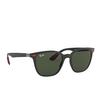 Ray-Ban® Square Sunglasses: Ferrari RB4297M color Matte Black F60271 - product thumbnail 2/3.