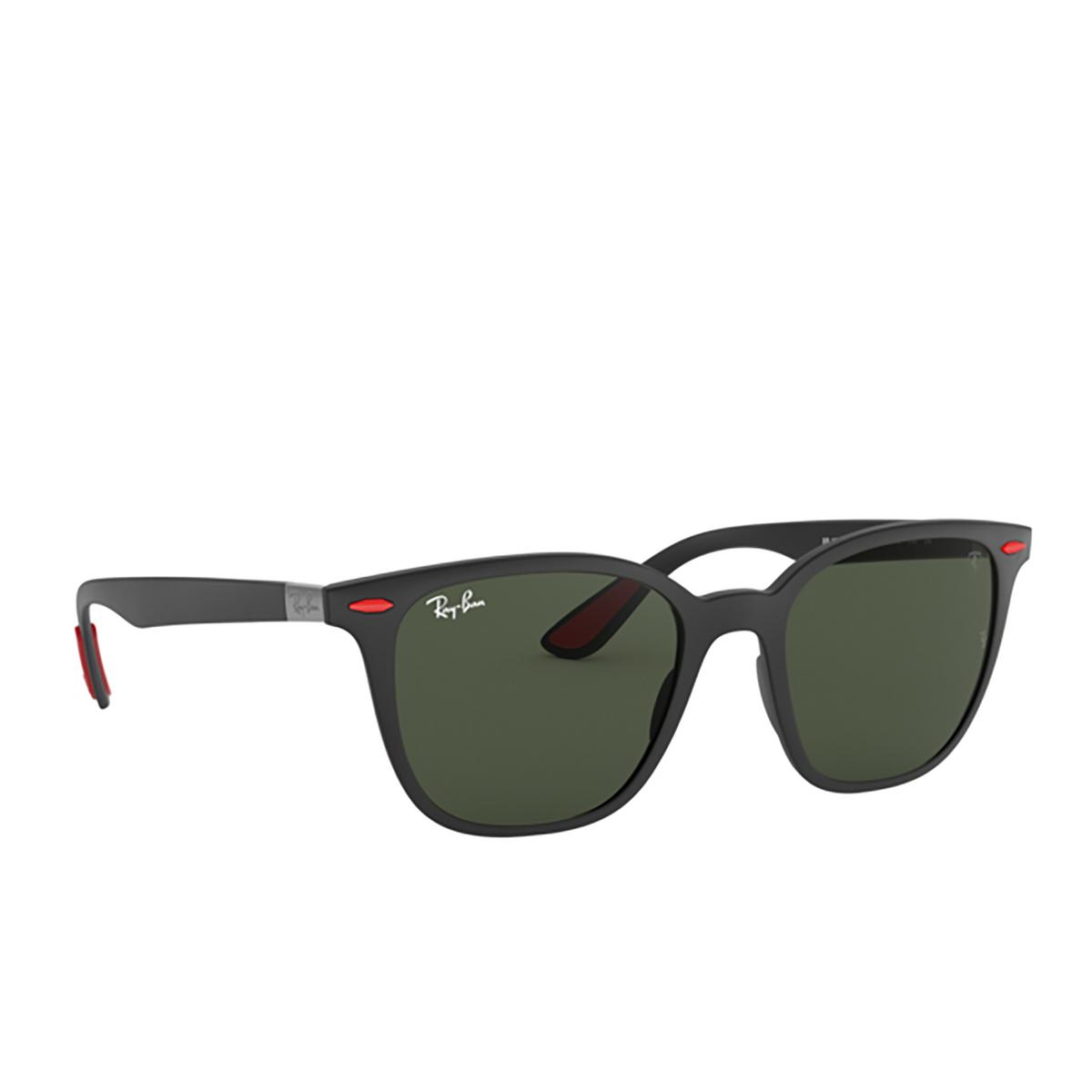 Ray-Ban® Square Sunglasses: Ferrari RB4297M color Matte Black F60271 - 2/3.