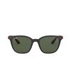 Ray-Ban® Square Sunglasses: Ferrari RB4297M color Matte Black F60271 - product thumbnail 1/3.