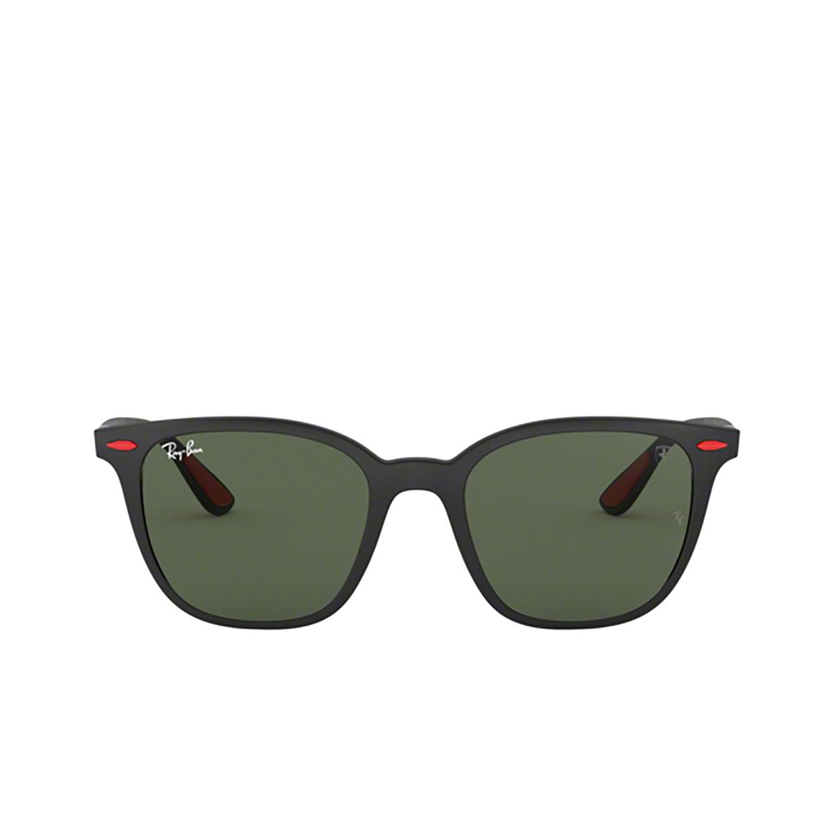 Ray-Ban® Square Sunglasses: Ferrari RB4297M color Matte Black F60271 - 1/3.