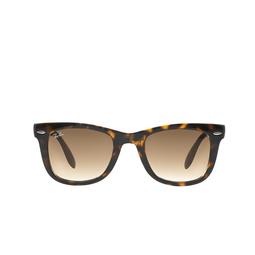 Ray-Ban® Sunglasses: Folding Wayfarer RB4105 color Light Havana 710/51.
