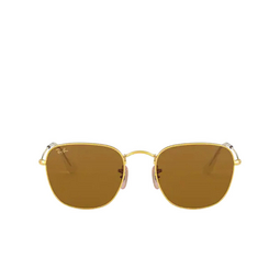 Ray-Ban® Square Sunglasses: Frank RB3857 color Legend Gold 919633.