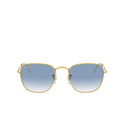 Ray-Ban® Square Sunglasses: Frank RB3857 color Legend Gold 91963F.