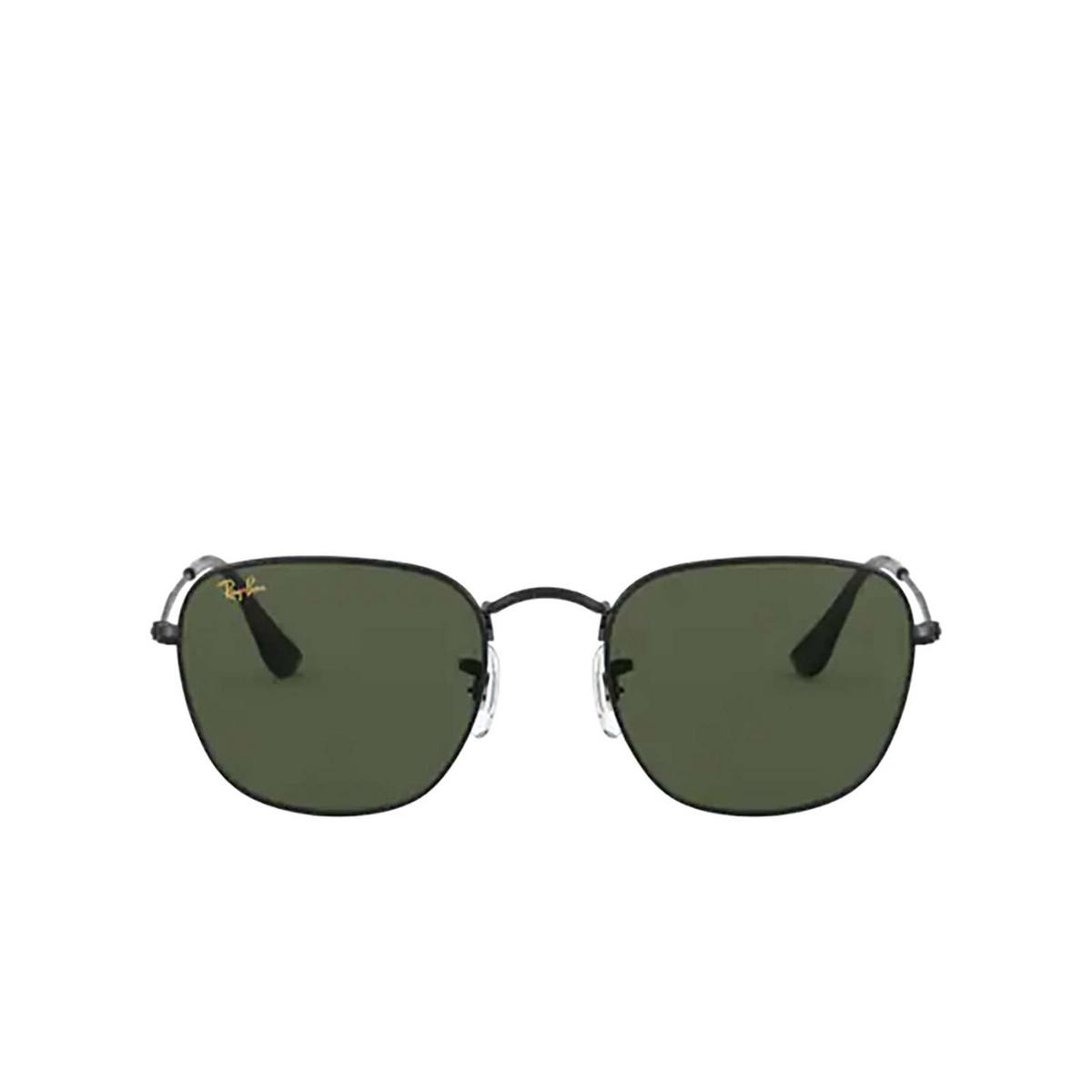 Ray-Ban® Square Sunglasses: Frank RB3857 color Black 919931 - 1/3.