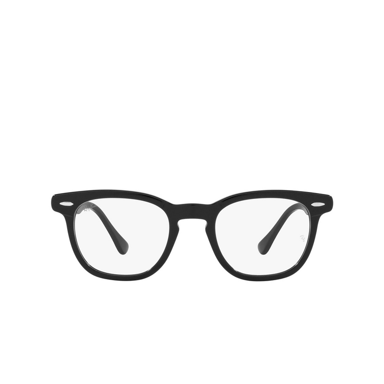 Ray-Ban® Square Eyeglasses: Hawkeye RX5398 color Black 2000.