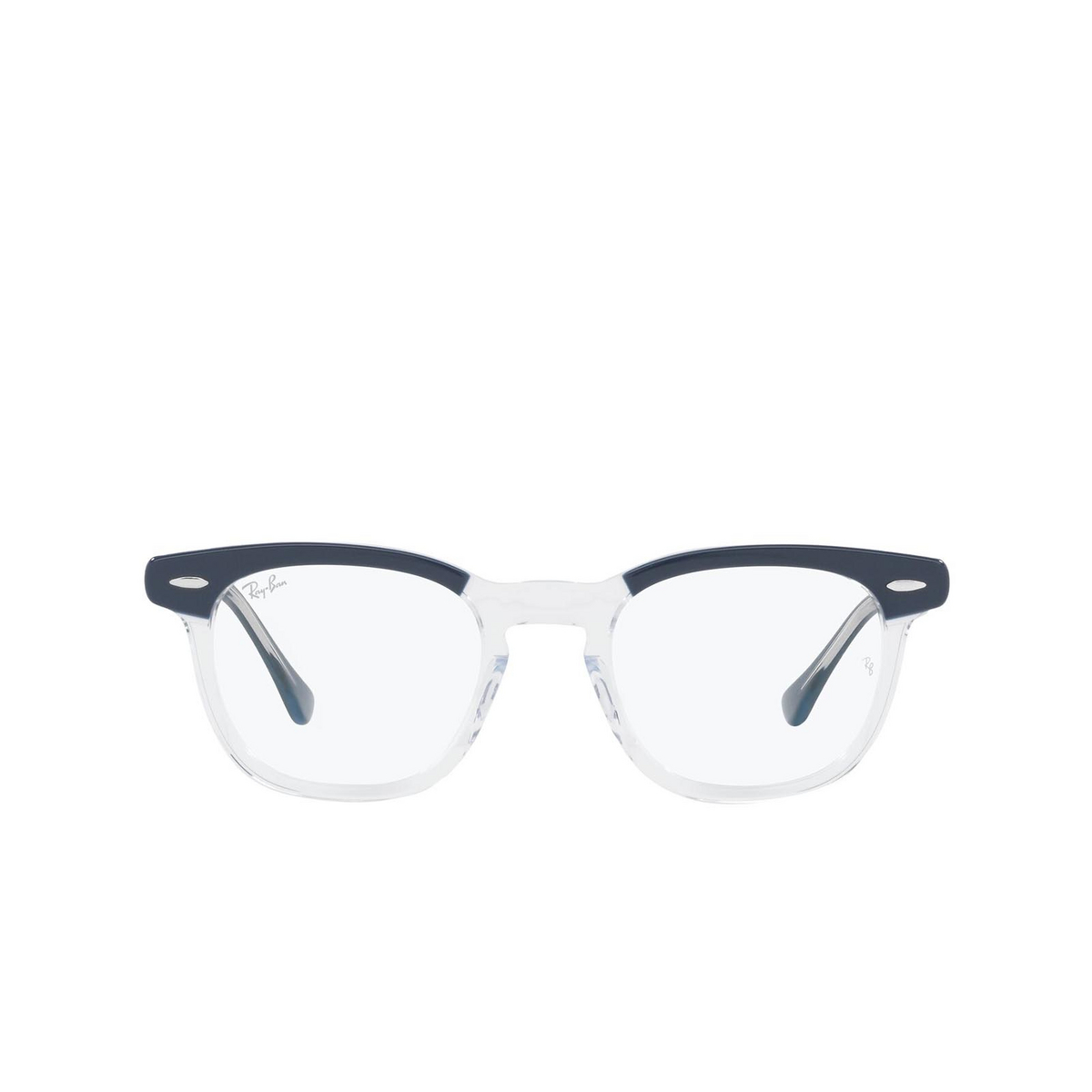 Ray-Ban® Square Eyeglasses: Hawkeye RX5398 color Blue On Transparent 8110.