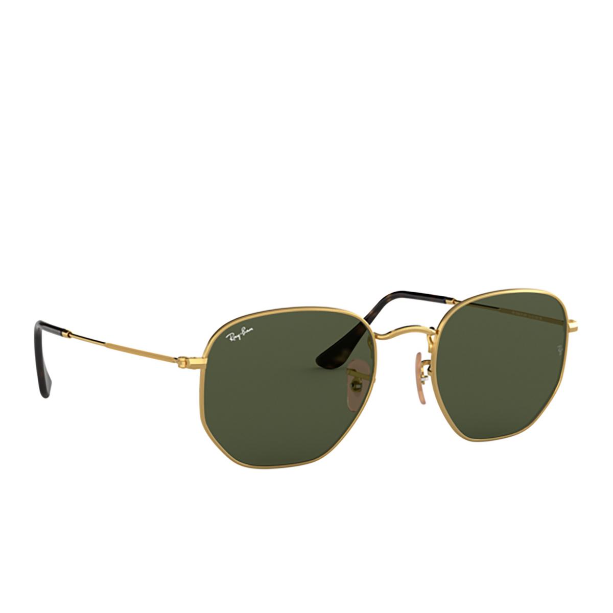 Ray-Ban® Irregular Sunglasses: Hexagonal RB3548N color Arista 001.