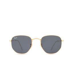 Ray-Ban® Sunglasses: Hexagonal RB3548N color Gold 001/R5.