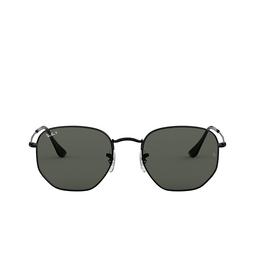 Ray-Ban® Sunglasses: Hexagonal RB3548N color Black 002/58.