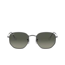Ray-Ban® Sunglasses: Hexagonal RB3548N color Gunmetal 004/71.