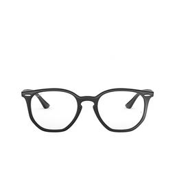 Ray-Ban® Eyeglasses: Hexagonal RX7151 color Black 2000.