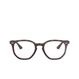 Ray-Ban® Eyeglasses: Hexagonal RX7151 color Havana 2012.