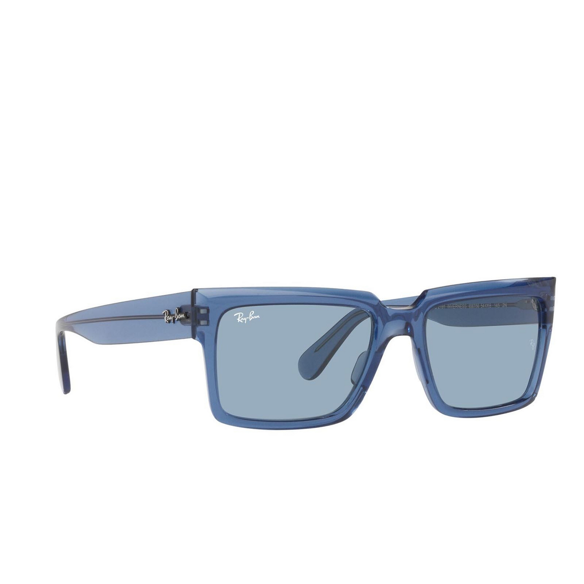 Ray-Ban® Square Sunglasses: Inverness RB2191 color True Blue 658756.