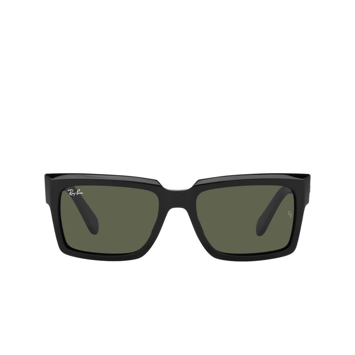 Ray-Ban® Square Sunglasses: Inverness RB2191 color Black 901/31.