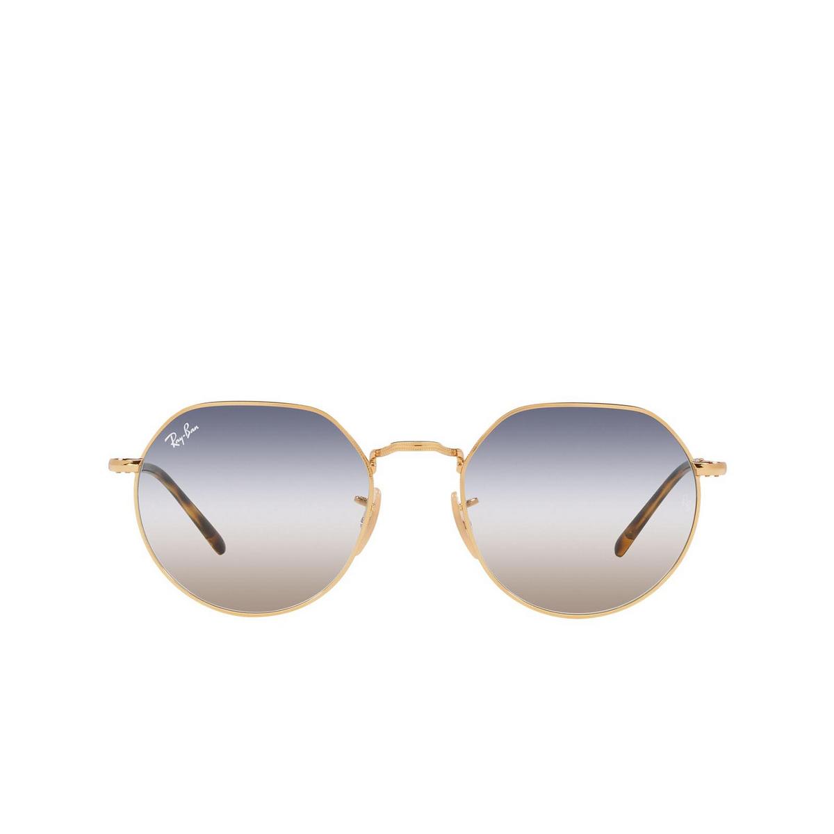 Ray-Ban® Irregular Sunglasses: Jack RB3565 color Arista 001/GD.
