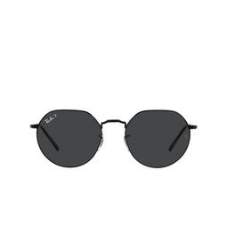 Ray-Ban® Irregular Sunglasses: Jack RB3565 color Black 002/48.