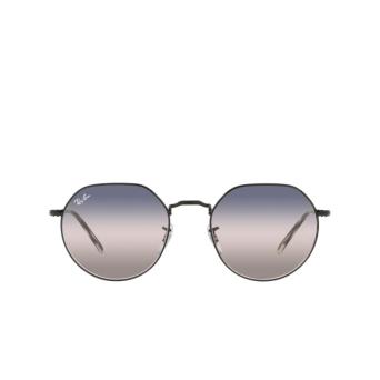 Ray-Ban® Irregular Sunglasses: Jack RB3565 color Black 002/GE.