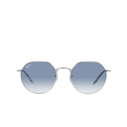 Ray-Ban® Irregular Sunglasses: Jack RB3565 color Silver 003/3F.