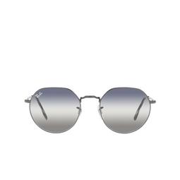 Ray-Ban® Irregular Sunglasses: Jack RB3565 color Gunmetal 004/GF.