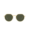 Ray-Ban® Irregular Sunglasses: Jack RB3565 color Legend Gold 919631 - product thumbnail 1/3.