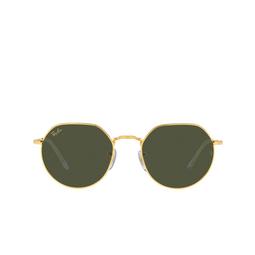 Ray-Ban® Irregular Sunglasses: Jack RB3565 color Legend Gold 919631.