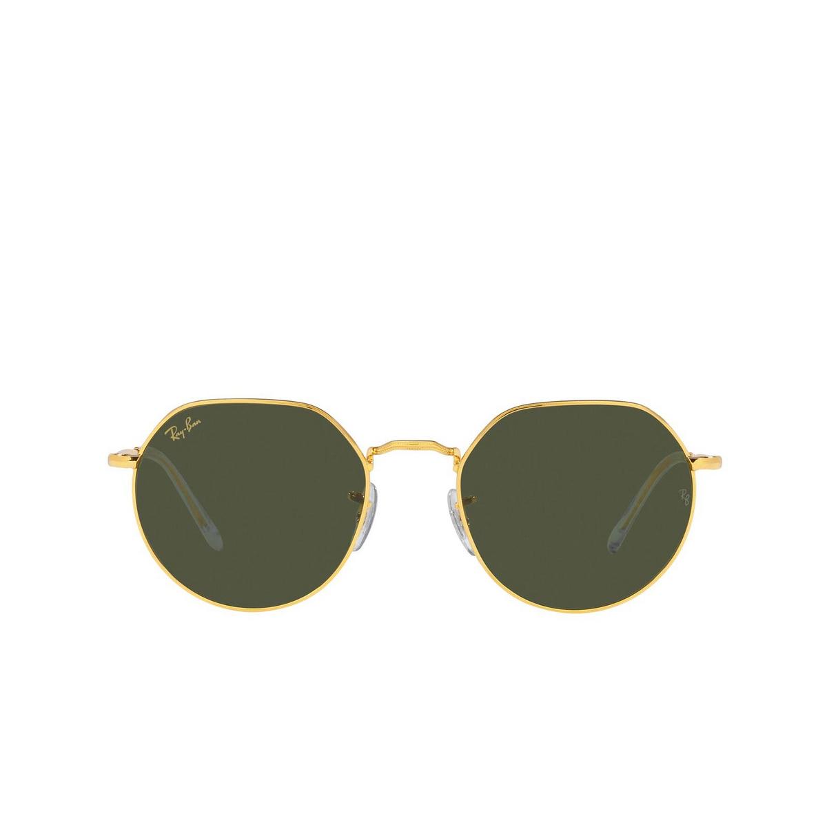 Ray-Ban® Irregular Sunglasses: Jack RB3565 color Legend Gold 919631 - 1/3.
