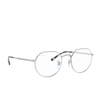 Ray-Ban® Irregular Eyeglasses: Jack RX6465 color Silver 2501.