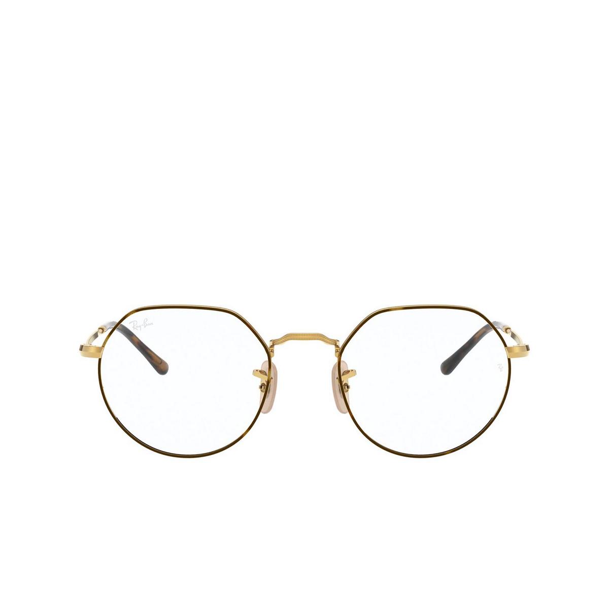 Ray-Ban® Irregular Eyeglasses: Jack RX6465 color Havana On Arista 2945.