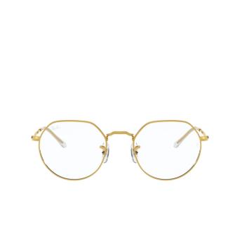 Ray-Ban® Irregular Eyeglasses: Jack RX6465 color Legend Gold 3086.