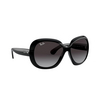 Ray-Ban® Butterfly Sunglasses: Jackie Ohh Ii RB4098 color Black 601/8G - product thumbnail 2/3.